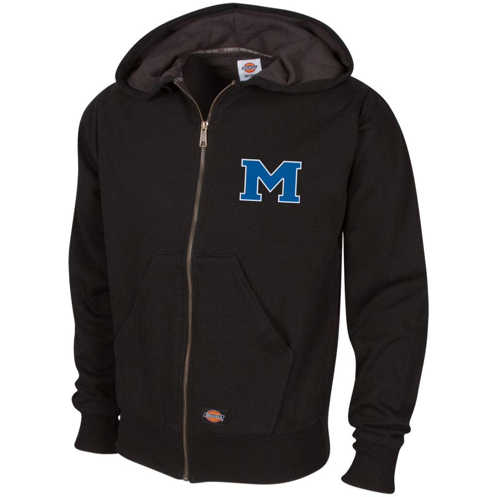 "Thermal Fleece Hooded Sweatshirt - Middletown Block ""M"""