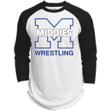 3/4 Sleeve Baseball T-Shirt - Middletown Wrestling