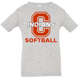 Infant T-Shirt - Cambridge Softball - C Logo