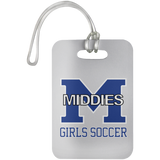 Luggage Bag Tag - Middletown Middie Girls Soccer