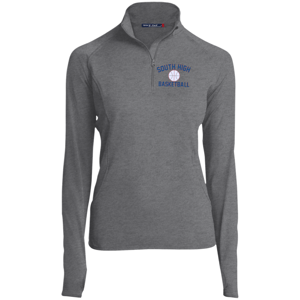 Women's Performance Quarter Zip Sweatshirt - South Glens Falls Basketball
