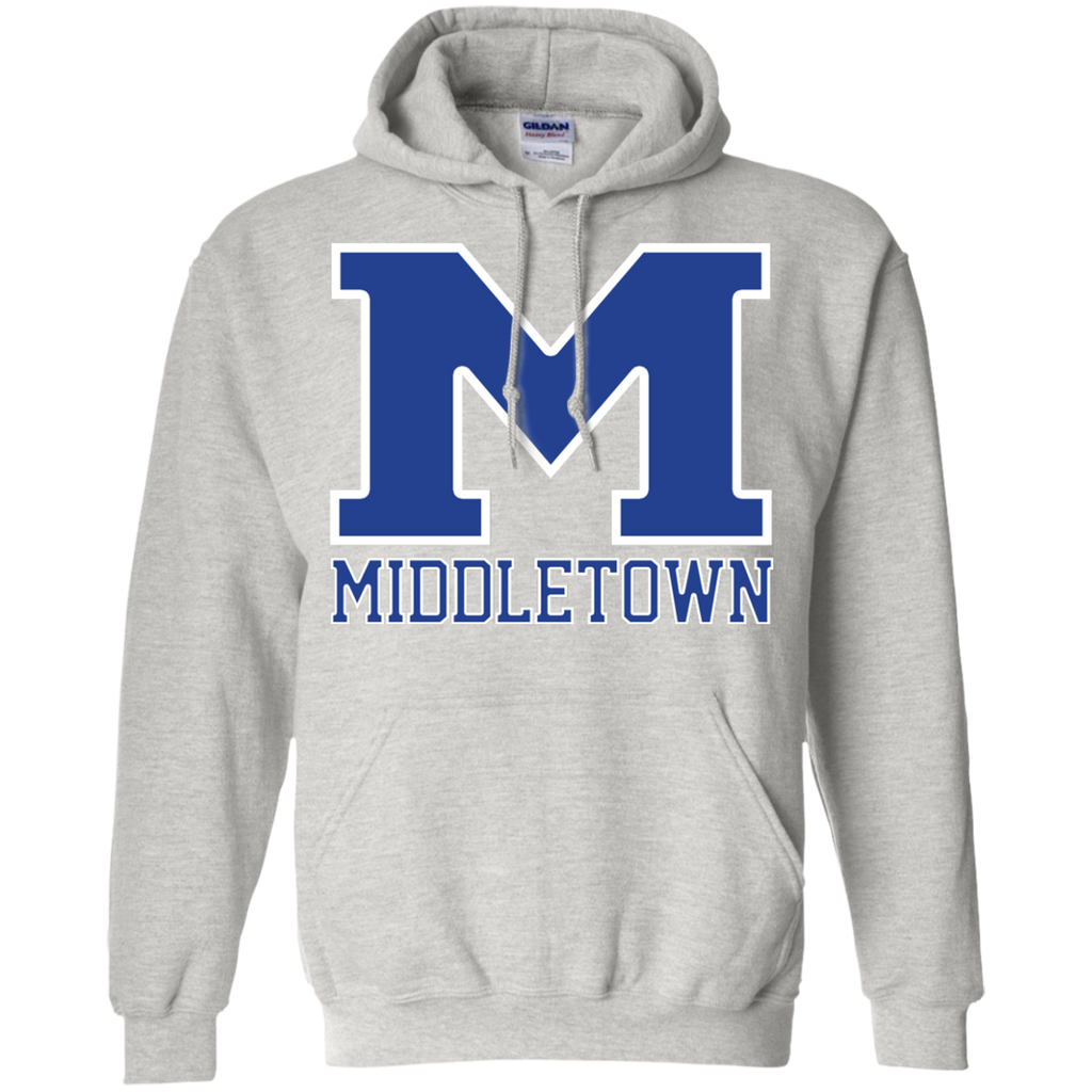 "Men's Hooded Sweatshirt - Middletown ""M"""