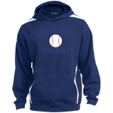 Colorblock Hooded Sweatshirt - South Glens Falls Baseball