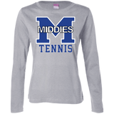 Women's Long Sleeve T-Shirt - Middletown Tennis