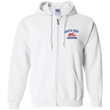 Men's Full-Zip Hooded Sweatshirt - South Glens Falls Swimming