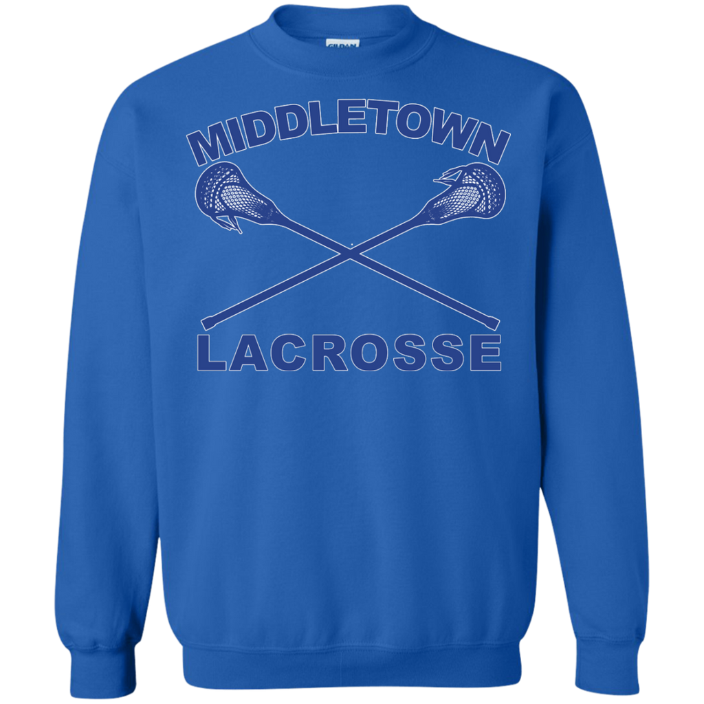 Crewneck Sweatshirt - Middletown Girls Lacrosse - Sticks Logo