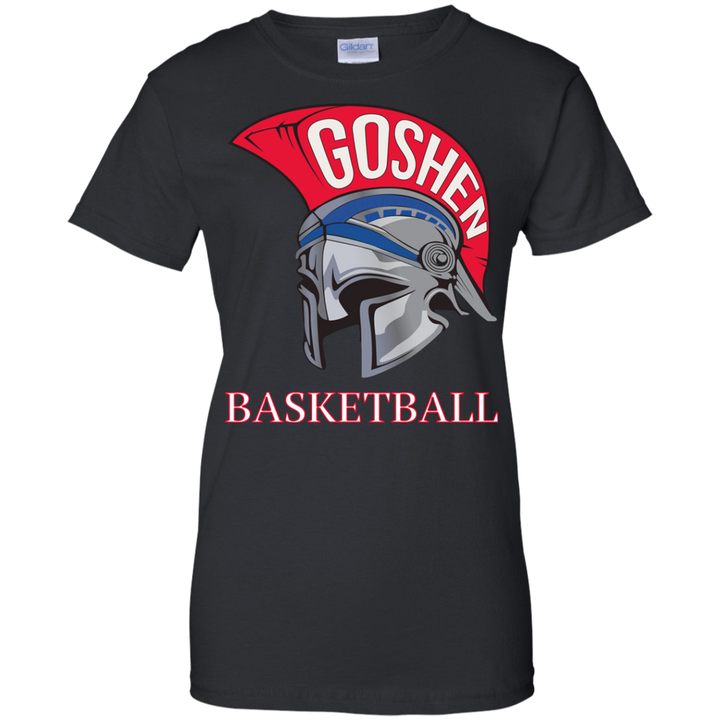 Women's Cotton T-Shirt - Goshen Basketball