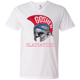 Men's V-Neck T-Shirt - Goshen Gladiators