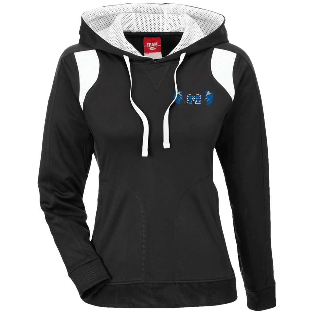 Women's Colorblock Hooded Sweatshirt - Middletown Unified Basketball