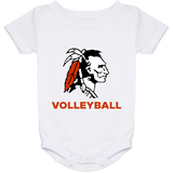 Baby Onesie 24 Month - Cambridge Volleyball - Indian Logo
