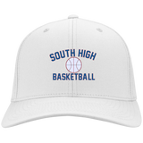 Basketball Vector Logo Outline_Pantone YSTC10 Sport-Tek Youth Dri-Fit Nylon Cap