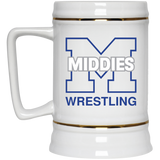 22 oz. Stein - Middletown Wrestling