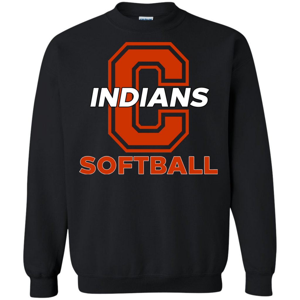 Crewneck Sweatshirt - Cambridge Softball - C Logo