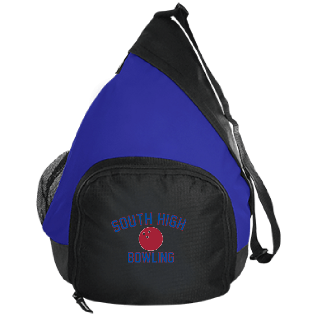 Bowling Vector Logo Outline_Pantone BG206 Port Authority Active Sling Pack