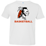 Toddler T-Shirt - Cambridge Basketball - Indian Logo