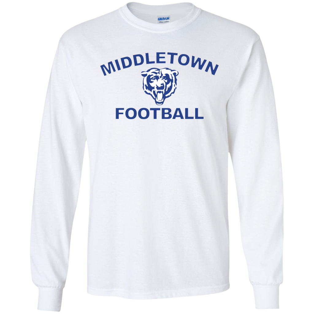 Men's Long Sleeve T-Shirt - Middletown Football