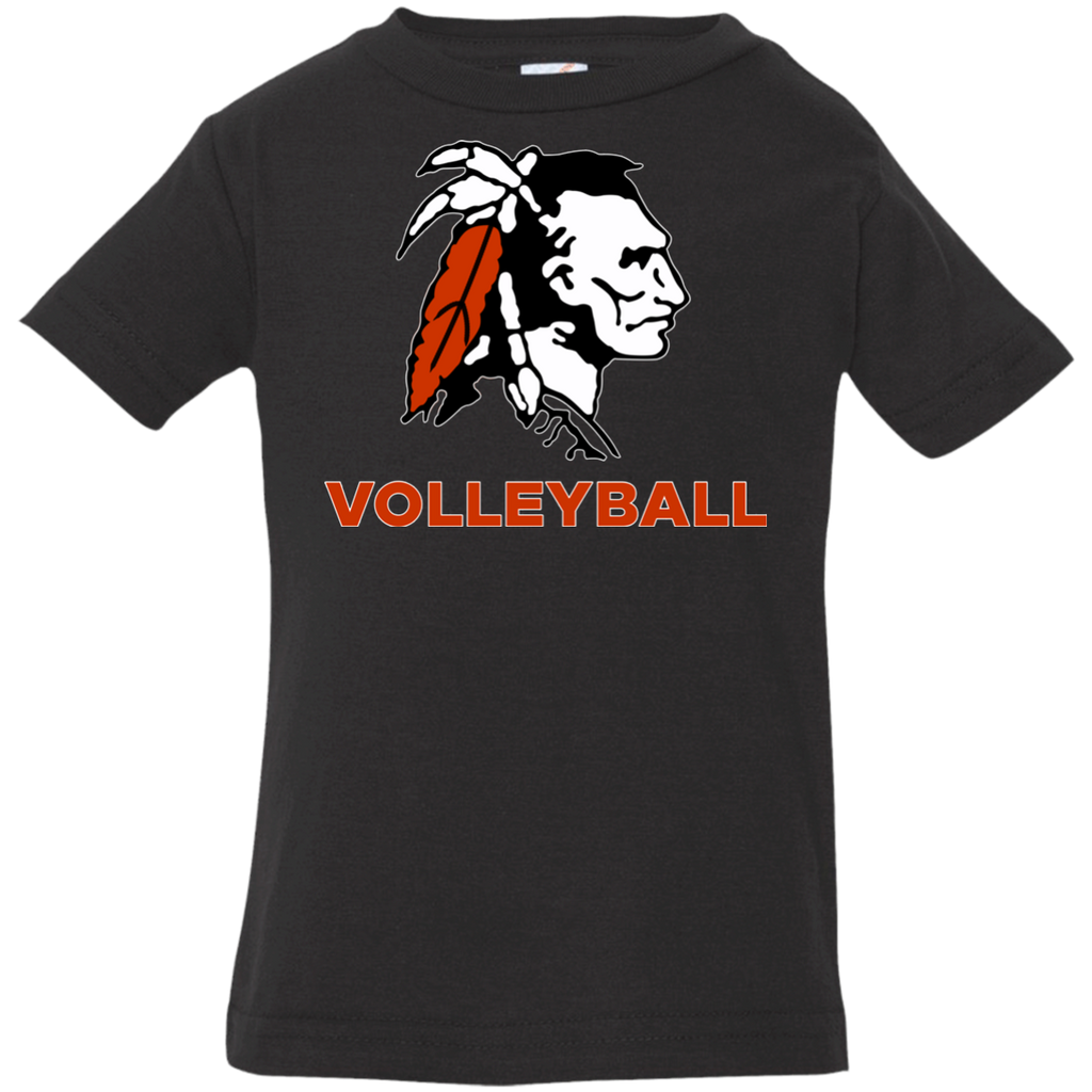 Infant T-Shirt - Cambridge Volleyball - Indian Logo