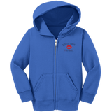 Toddler Full-Zip Hooded Sweatshirt - South Glens Falls Football