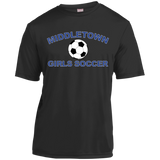 Men's Moisture Wicking T-Shirt - Middletown Girls Soccer