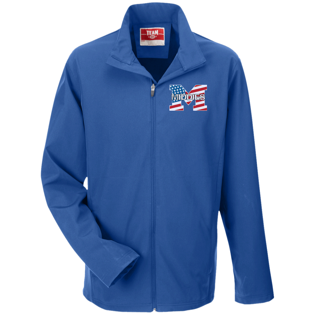 Men's Soft Shell Jacket - Middletown American Flag