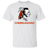 Men's Cotton T-Shirt - Cambridge Cheerleading - Indian Logo