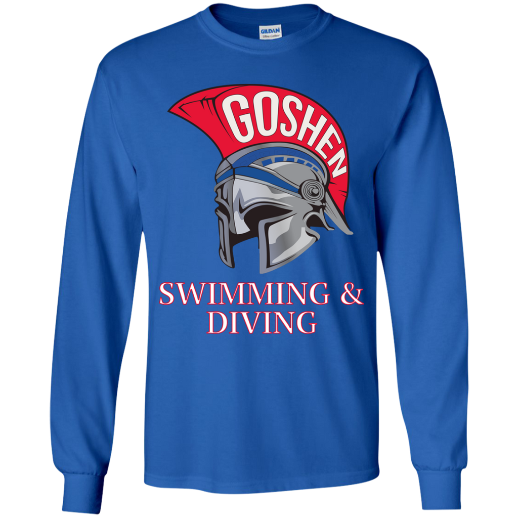 Youth Long Sleeve T-Shirt - Goshen Swimming & Diving