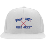 Flex Fit Twill Hat w/ Flat Bill - South Glens Falls Field Hockey