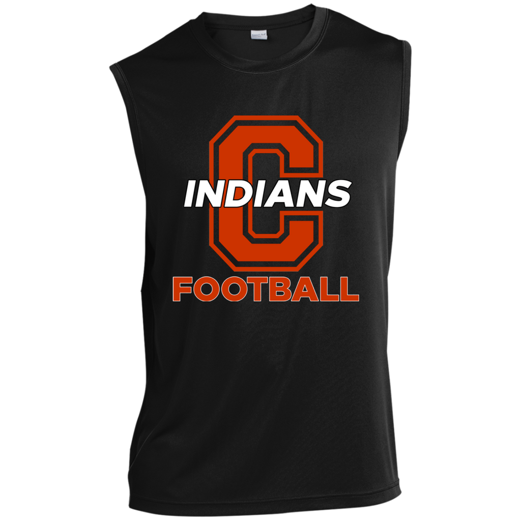 Sleeveless Performance T-Shirt - Cambridge Football - C Logo