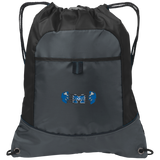 Drawstring Bag with Pocket - Middletown Unified Basketball