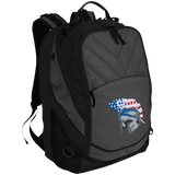 Small Laptop Backpack - Goshen American Flag