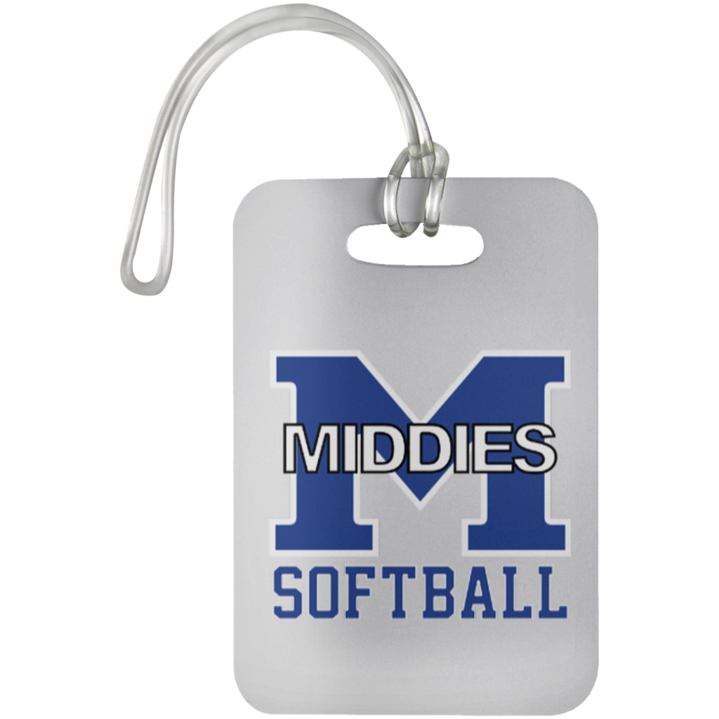 Luggage Bag Tag - Middletown Softball