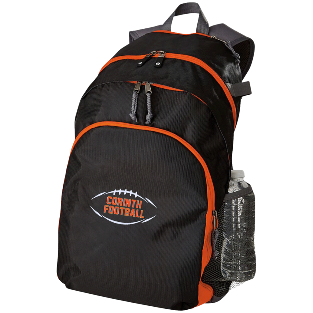 Large Laptop Backpack - Corinth Football