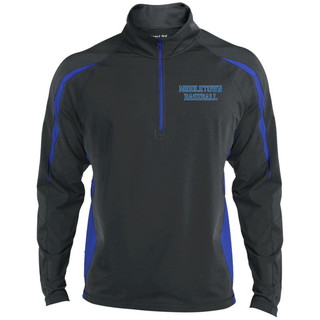 Men's Sport Wicking Half-Zip - Middletown Baseball