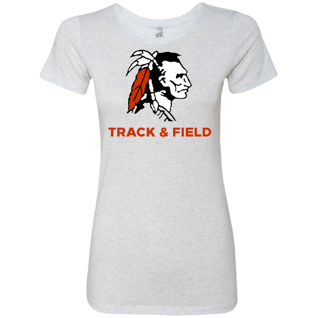 Women's Premium T-Shirt - Cambridge Track & Field - Indian Logo