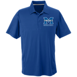 Men's Solid Moisture Wicking Polo - Middletown Girls Basketball