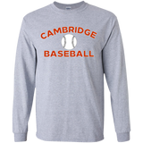 Youth Long Sleeve T-Shirt - Cambridge Baseball