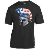 Youth Moisture Wicking T-Shirt - Goshen American Flag
