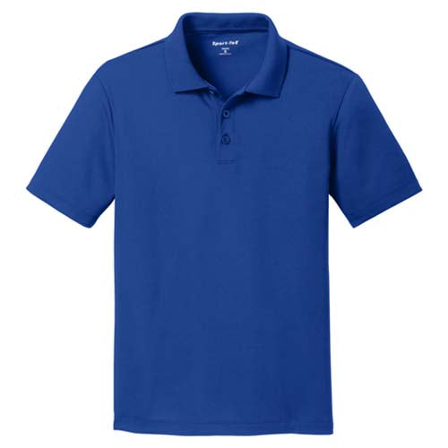 Youth Moisture Wicking Polo