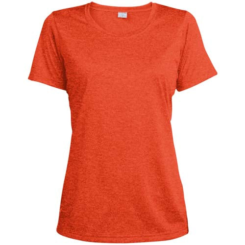 Women's Heather Moisture Wicking T-Shirt