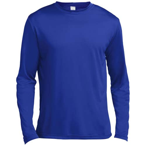 Men's Moisture Wicking Long Sleeve T-Shirt