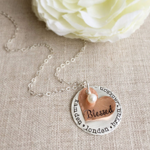 Blessed Mothers Necklace