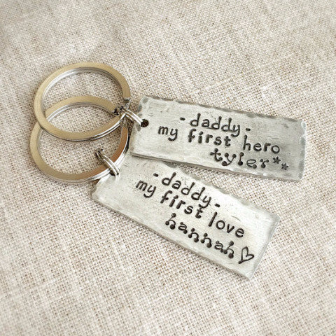 Fathers Keychain from Child