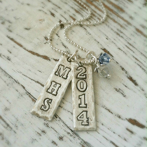 Pewter Graduation Necklace
