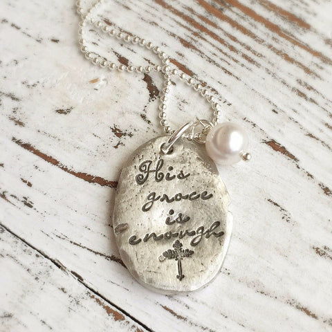 His Grace Is Enough Necklace