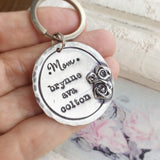 Personalized Roses Keyring
