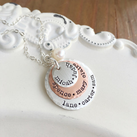 Mothers Necklace - Typewriter