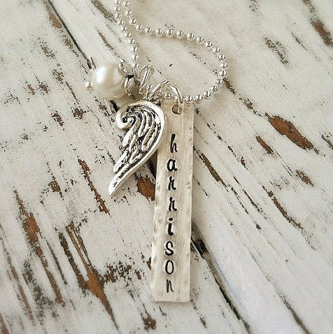 My Angel Wing Necklace
