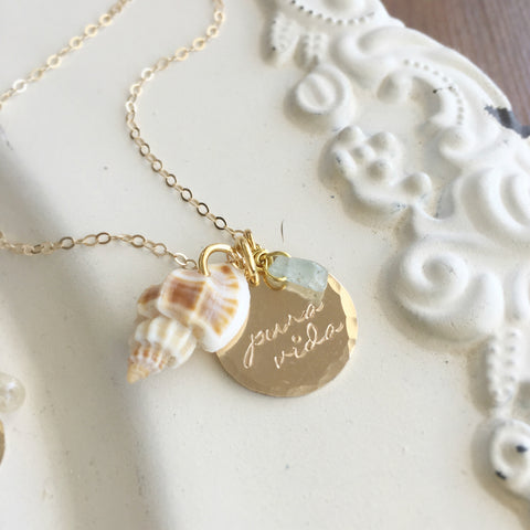 Pura Vida Seashell Necklace
