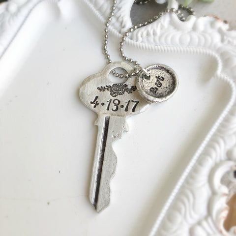 Meaningful Vintage Key