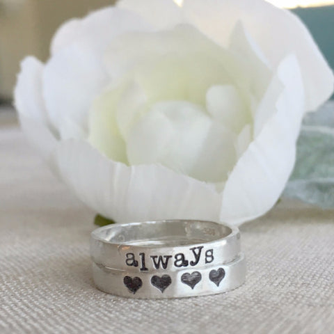 Stacked Personalized Rings